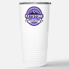 Keystone Purple Stainless Steel Travel Mug
