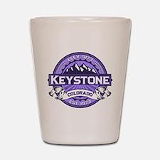 Keystone Purple Shot Glass
