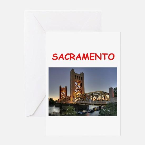 sacramento Greeting Card
