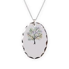 Rainbow Tree Necklace