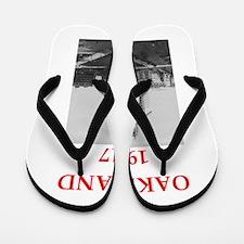 oakland Flip Flops