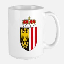 Upper Austria Coat of Arms Mugs