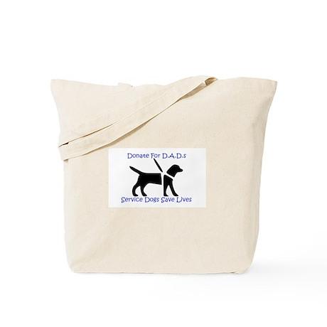 Help Libby get a D.A.D. Tote Bag