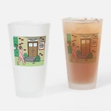 We Never Clothe Drinking Glass