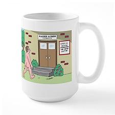 We Never Clothe Mug