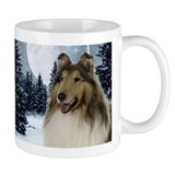 Collie Small Mugs (11 oz)