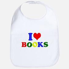 I Love Books Bib