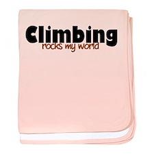 'Climbing' baby blanket