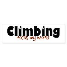 'Climbing' Bumper Sticker