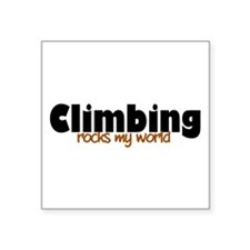 "'Climbing' Square Sticker 3"" x 3"""