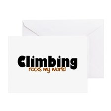 'Climbing' Greeting Card