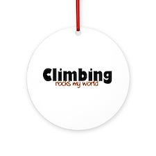 'Climbing' Ornament (Round)