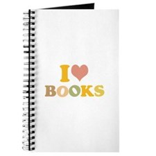 I Love Books Journal