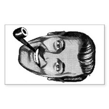 Lucky Dobbshead Rectangle Stickers