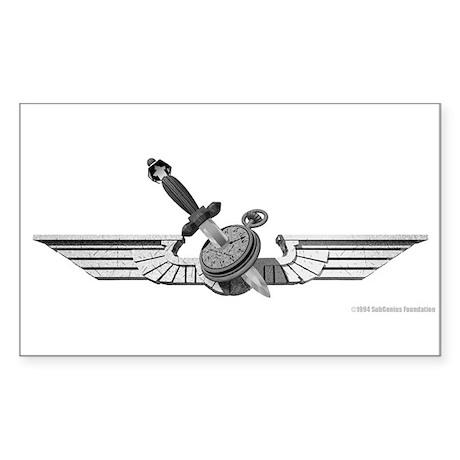 Wings of Slack Rectangle Sticker