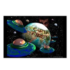 """""""Earth First"""" Postcards (Package of 8)"""