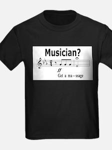 Musician Massage T-Shirt