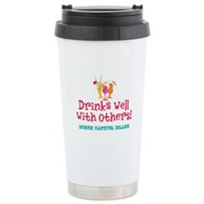 North Captiva-Drinks Well Travel Mug