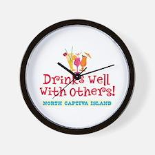 North Captiva-Drinks Well Wall Clock