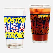 Boston Strong USA Drinking Glass