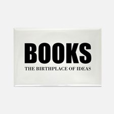 Birthplace Of Ideas Rectangle Magnet