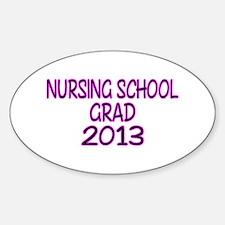 2013 NURSING SCHOOL copy Decal