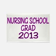 2013 NURSING SCHOOL copy Rectangle Magnet (10 pack