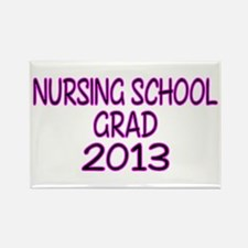 2013 NURSING SCHOOL copy Rectangle Magnet