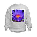 Purple Lily Kids Sweatshirt