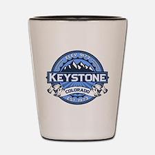 Keystone Blue Shot Glass