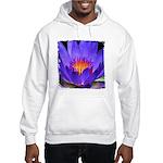 Purple Lily Hooded Sweatshirt
