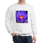 Purple Lily Sweatshirt