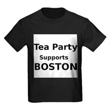 Tea Party Supports Boston T-Shirt