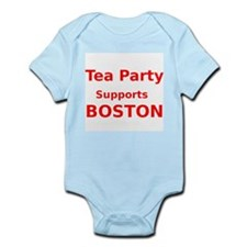 Tea Party Supports Boston Body Suit