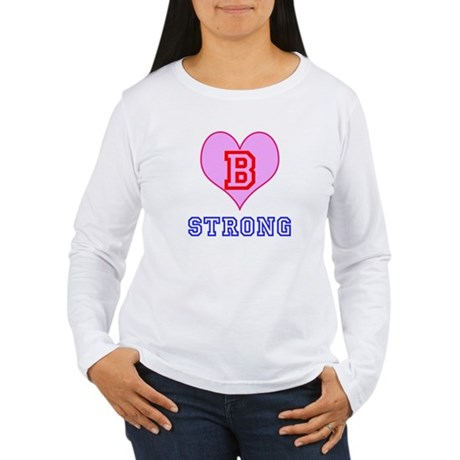 B Strong Boston Long Sleeve T-Shirt