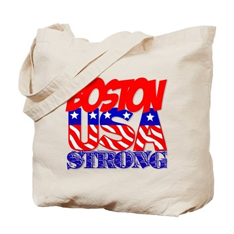 Boston Strong USA Tote Bag