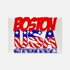 Boston Strong USA Rectangle Magnet