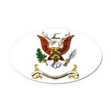 7th Cavalry Regiment Oval Car Magnet