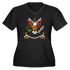7th Cavalry Regiment Women's Plus Size V-Neck Dark