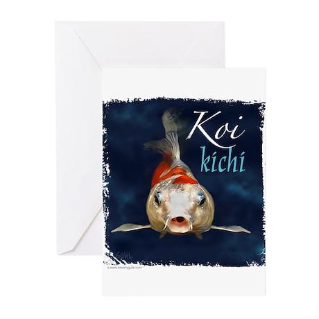 Koi Face Greeting Cards (Pk of 10)