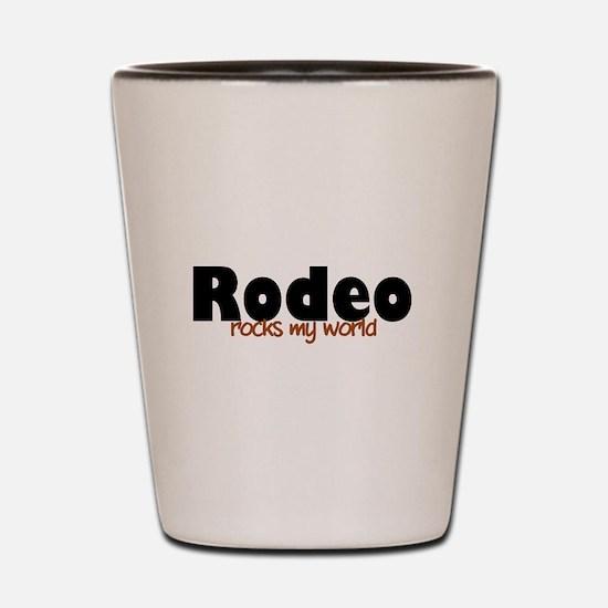 'Rodeo' Shot Glass
