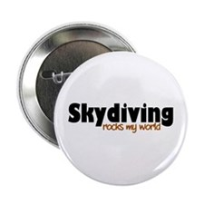 """'Skydiving' 2.25"""" Button"""