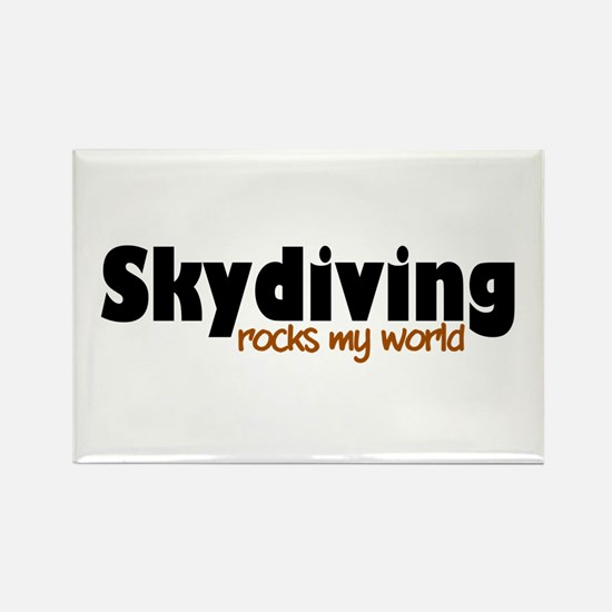 'Skydiving' Rectangle Magnet