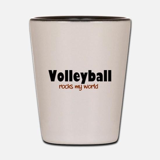 'Volleyball' Shot Glass