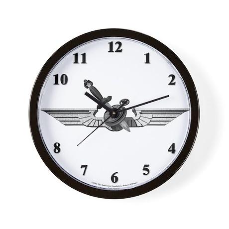 Wings of Slack (Paul Mavrides)Wall Clock