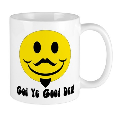 Shakespear Happy Face Mug