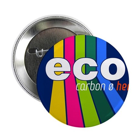 "Hemp Rainbow Sticker 2.25"" Button"