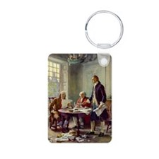 Declaration of Independence 1776 Keychains