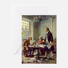 Declaration of Independence 1776 Greeting Card