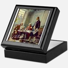 Declaration of Independence 1776 Keepsake Box